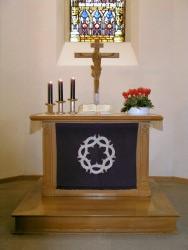 Altar der Kirche Öschelbronn